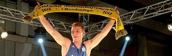 Richard Meinecke nach seinem Sieg (Foto: nnz)