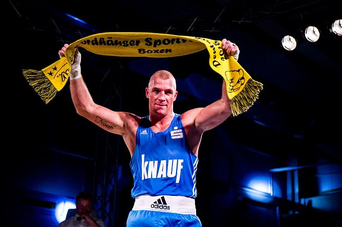 Peter Mullenberg nach seinem Sieg (Foto: Ch. Keil)