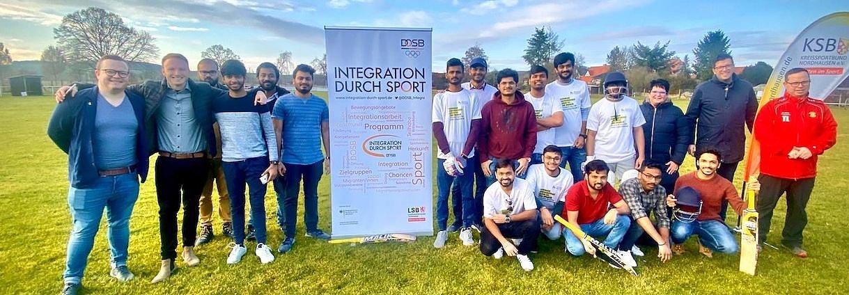 Cricket-Kooperation in Krimderode (Foto: M. Henning)