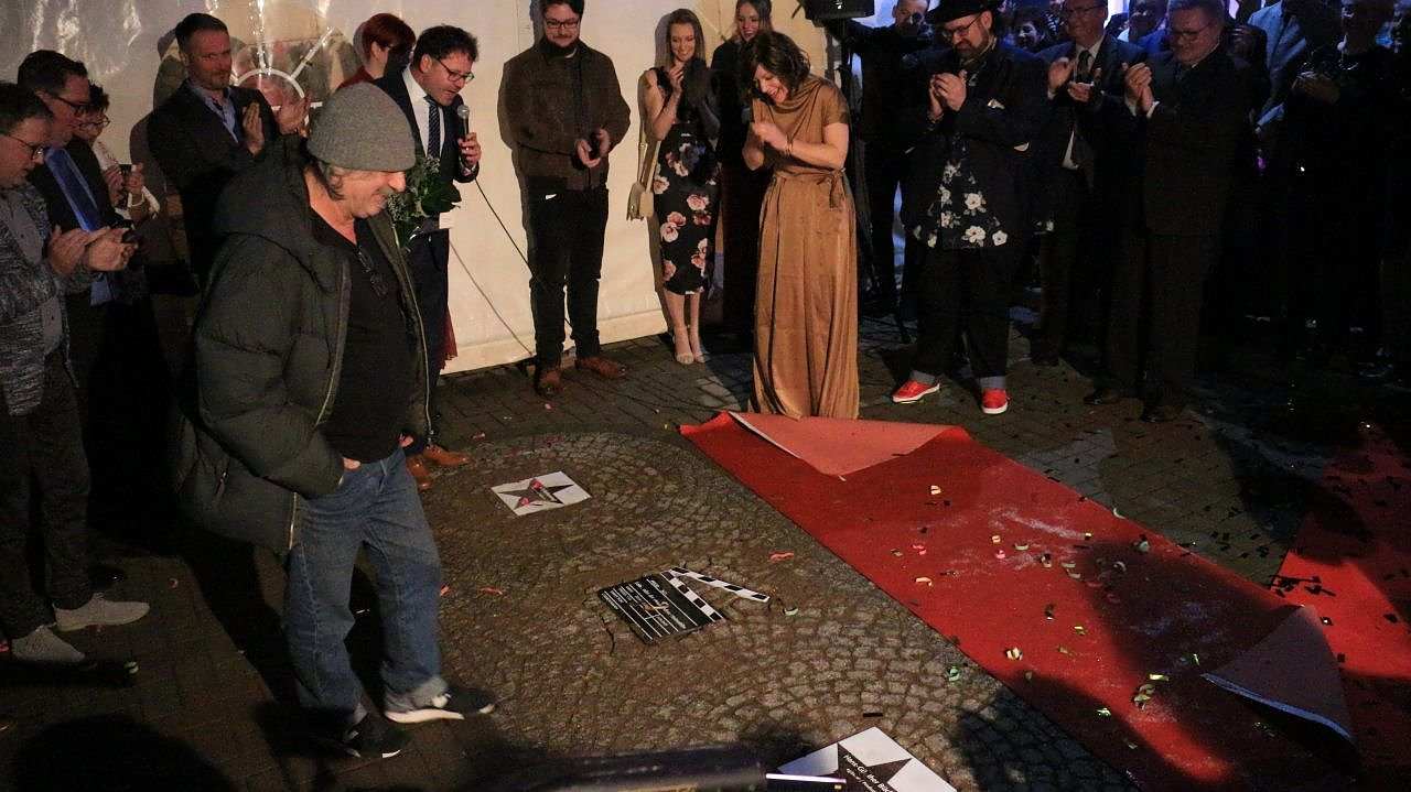 "Der ""Walk of Fame"" in Bleicherode (Foto: Angelo Glashagel)"