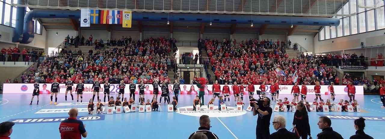 Thüringer HC gegen RK Podravka Vegeta (Foto: Angelo Glashagel)