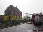 Brand in Liebenrode (Foto: Angelo Glashagel)