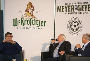 Hans Meyer (links), Ede Geyer (rechts)