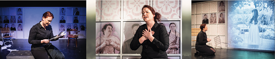 Effi Briest im Theater unterm Dach (Foto: Marco Kneise)