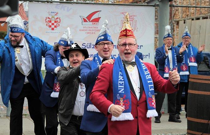 Karnevalsstart in Ellrich (Foto: Susanne Schedwill)