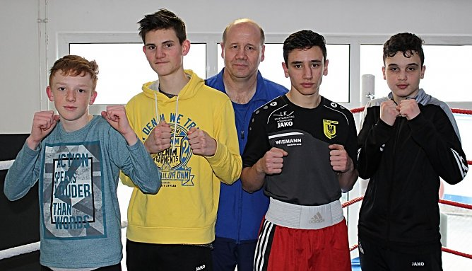Keanu Zorn, Musheg Mhez, Jangir Osmanov und Collin Ostmann fahren zur Mitteldeutschen Meisterschaft nach Merseburg (Foto: BSG Altstadt 05 Nordhausen)