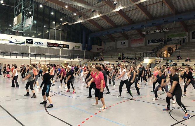 Frauensporttag in der Wiedigsburghalle: Hoffen auf November (Foto: privat)