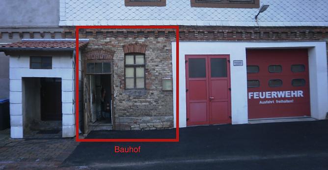 Die kleineren Standorte, hier Kleinbodungen, sollen als Außenlager weiter genutzt werden (Foto: Landgemeinde Bleicherode)