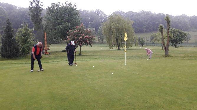 Endlich wieder einlochen - in Neustadt kann wieder Golf gespielt werden (Foto: Golfpark Neustadt)