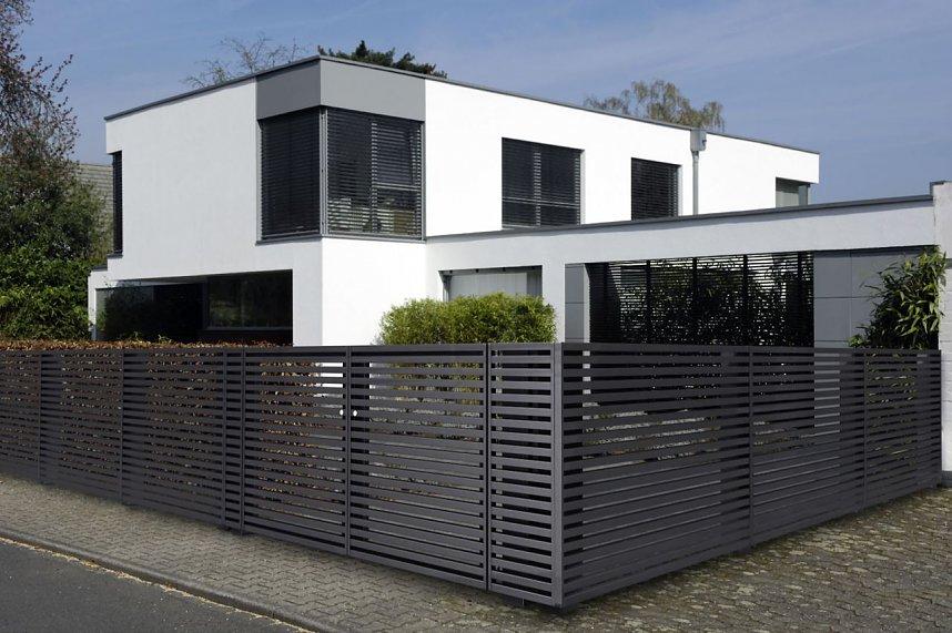 Bildergalerie Den Zaun Passend Zum Haus Gestalten