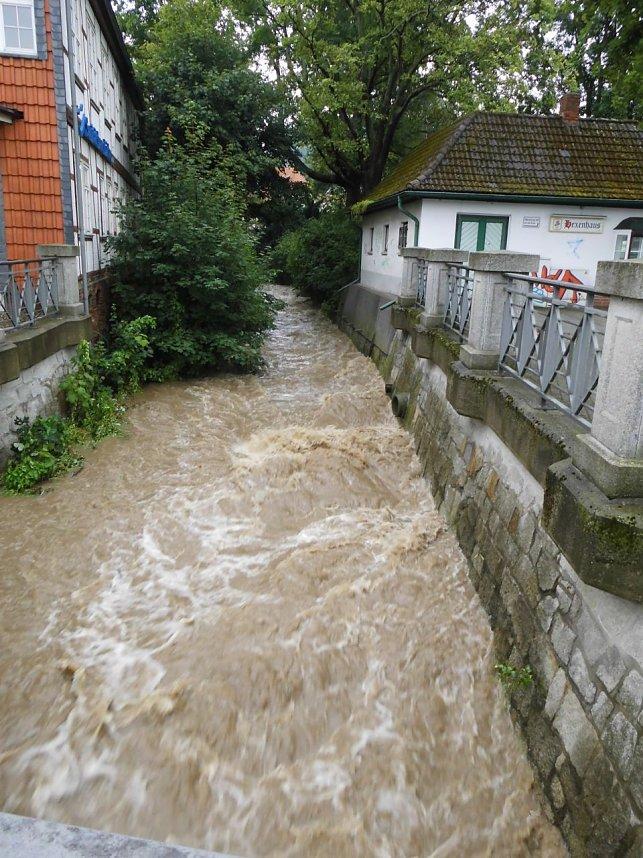 Hochwasser Im Harz 2021
